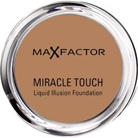 Max factor miracle touch liquid illusion foundation fondotinta -85 caramel