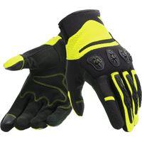 Dainese guanti moto estivi Dainese aerox unisex nero giallo fluo