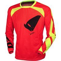 Ufo maglia off road proton rosso fluo