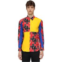 COMME DES GARÇONS SHIRT camicia in cotone patchwork