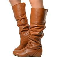 KikkiLine stivali donna sportivi in pelle marrone made in italy 690746928ec