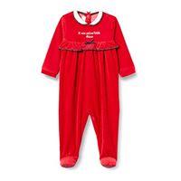 Chicco tutina con apertura sul patello pigiamino per bambino e neonato, bianco e giallo, 050 bimba