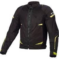 Macna giacca moto touring Macna hurracage nero camo grigio
