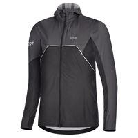 gore--wear giacche gore--wear r7 partial goretex infinium s black / terra grey