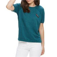 Obey maglia Obey starlight crew specialty heather teal