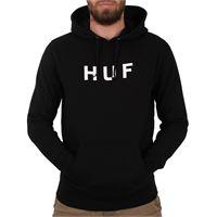 Huf felpa Huf essential og logo p-o hoodie black