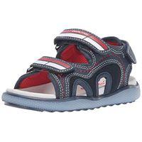 Naturino ellis, sandali punta aperta bambini e ragazzi, blu (navy 0c02), 24 eu