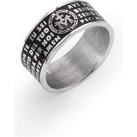 Amen anello unisex gioielli Amen ave maria italiano; Ams02925-12
