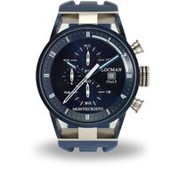 Locman orologio cronografo uomo Locman montecristo; 0510blblfwh0sib