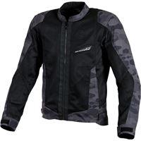 Macna giacca moto touring estiva Macna velocity nero camo
