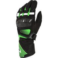 Macna guanti moto pelle estivi Macna airpack nero verde