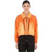 KENZO giacca cropped in nylon