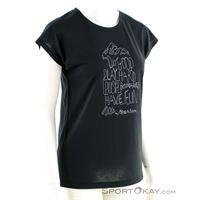 Houdini big up message tee donna maglietta