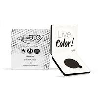 PuroBio cosmetics puro. Bio ombretto in cialda n. 04 -nero