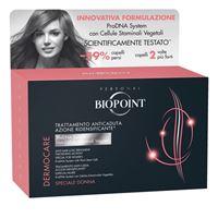 Biopoint - dermocare anticaduta - trattamento ridensificante donna 12 x 6 ml