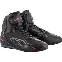 Alpinestars scarpe moto donna Alpinestars stella faster-3 nero rosa