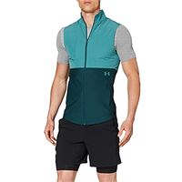 Under Armour vanish hybrid vest, felpa uomo, blu dust, xl
