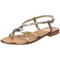Les Tropéziennes par M. Belarbi monaco, sandali con chiusura sul retro donna, (beige/bronze 45), 38 eu