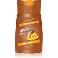 Tannymaxx x-tra brown mango me latte abbronzante per solarium per stimolare l'abbronzatura 200 ml