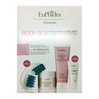 EuPhidra linea body box azione urto + gel riducente + esfoliante corpo omaggio