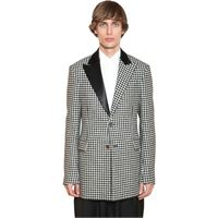 LOEWE giacca 2bt in lana pied de poule