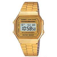 Casio collection a168w a168wg-9wdf orologio unisex quarzo digitale cronografo
