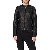Vila NOS viblue new jacket-noos giacca, nero (black black), 42 (taglia produttore: 36) donna