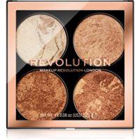 Makeup Revolution cheek kit palette per il viso colore don't hold back 4 x 2,2 g