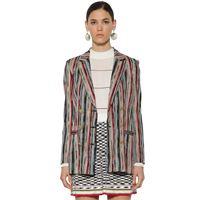 MISSONI blazer doppiopetto in maglia di lana