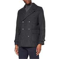 find. marchio amazon - find. giaccone in lana uomo, blue (navy), xl, label: xl