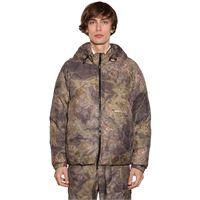 1017 ALYX 9SM piumino in techno tessuto camouflage con cappuccio