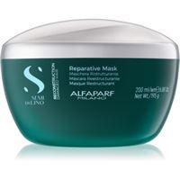 Alfaparf Milano semi di lino reconstruction reparative maschera per capelli per capelli rovinati 200 ml