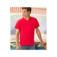 Fruit of the Loom t-shirt uomo valueweight scollo a v fruit of the loom
