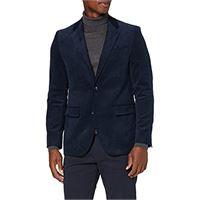 find. marchio amazon - find. blazer casual in velluto a coste uomo, nero (black), 44, label: 34