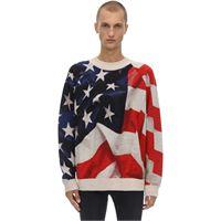 IH NOM UH NIT maglia oversize american flag