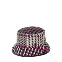 MAISON MICHEL cappello bucket jason in vinile e acrilico