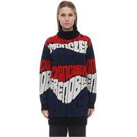 MONCLER GRENOBLE maglia in lana e cashmere jacquard