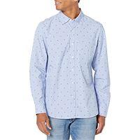 Goodthreads camicia casual a manica lunga standard fit uomo