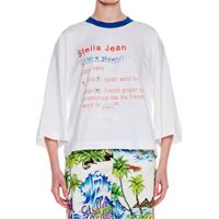 STELLA JEAN t- shirt con logo dictionary