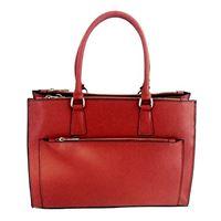 Contessa dal pozzo sonia, borsa a mano donna, rosso, 35x28x15 cm (w x h x l)