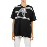 ALBERTA FERRETTI t-shirt nera in cotone