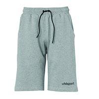 uhlsport essential pro - pantaloncini da bambino, bambini, 100518615, dark grau melange, 164