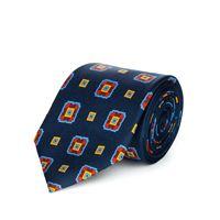 Lanieri cravatta su misura, Lanieri, contrasto blu, quattro stagioni