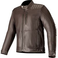 Alpinestars giacca moto pelle Alpinestars crazy eight marrone