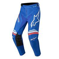 Alpinestars pantaloni cross Alpinestars racer braap blu bianco