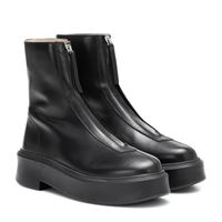The Row stivaletti zipped 1 in pelle