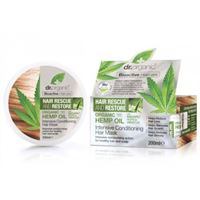 Dr. Organic hemp oil maschera ristrutturante 200 ml