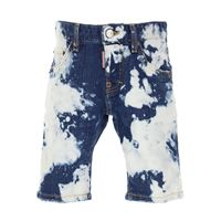 Dsquared pantaloncini shorts bambino in outlet, blue denim, cotone, 2019, 10y 12y 6y 8y