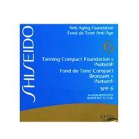 SHISEIDO fondotinta abbronzante compatto n protezione bassa spf6 (naturale) 12 grammi