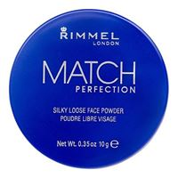 Rimmel London match perfection cipria in polvere libera 10 g tonalità 001 transparent